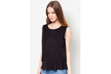 Something Borrowed Frilled Top