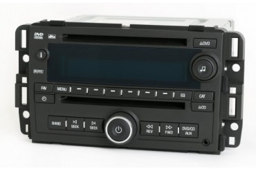 Chevy GMC Truck 2007-08 Radio AM FM CD DVD Player Part Number 25840249 UVA