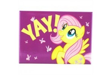 My Little Pony Fluttershy Yay Rectangle Magnet