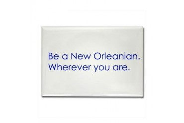 New Orleans Louisiana Rectangle Magnet by CafePress