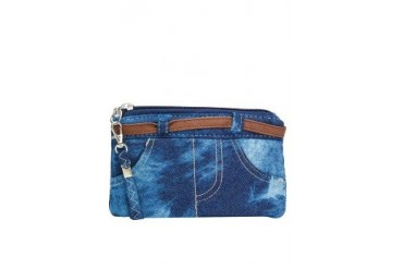 Jeans Cosmetic Pouch