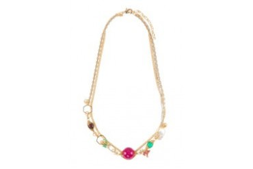 Work Collection Multicoloured Beads Necklace