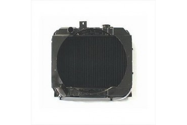 Omix-Ada Replacement 2 Core Radiator for 134 4 Cylinder Engine with Manual Transmission 17101.01 Radiator
