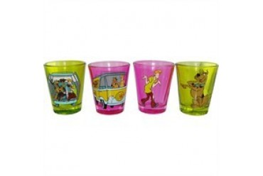 Scooby Doo Shaggy Mystery Machine Color Shot Glass Set