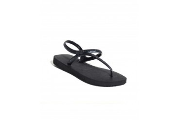 Havaianas Flash Urban T-Strap Flip Flops Black, M
