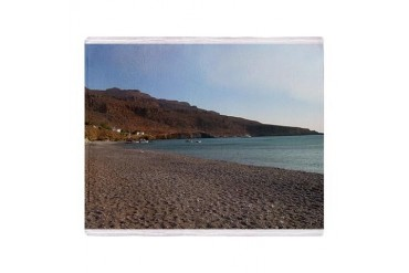 Crete, Greece 2 Stadium Blanket Nature Throw Blanket by CafePress