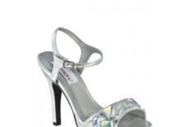 Dyeables Shoes - Style Kelly Silver Metallic 6814