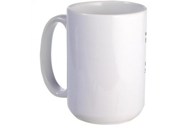 Natural Progression of a Cyclist-Large Mug