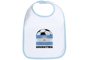 Argentina Soccer Sports Bib by CafePress