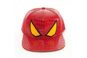 Marvel Comics Amazing Spider-Man Glossy Eyes Embroidered Snap Closure Hat