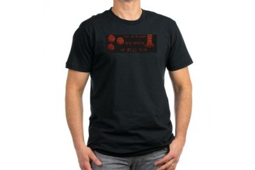 Pinball - Pull Plunger, Balls Fly DMD Men's Fitted Balls Men's Fitted T-Shirt dark by CafePress
