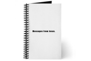 Messages from Jesus Journal