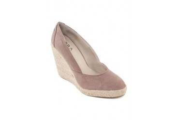 EZRA by ZALORA Suede Pointed Espadrille Wedge