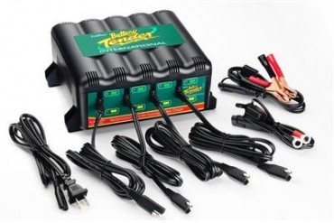 Deltran Battery Tender 4-Bank International Charger - USA Western Hemisphere  022-0148-DL-WH Battery Charger