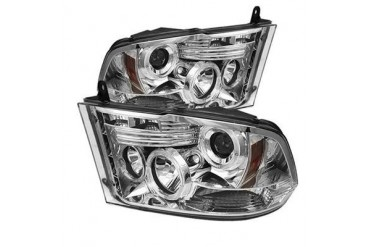 Spyder Auto Group Halo LED Projector Headlights 5010049 Headlight Replacement