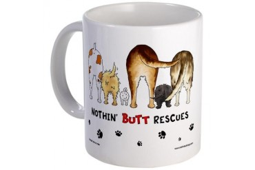 Dog Breed Rescues Mug