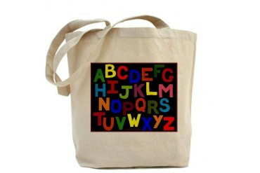 ABC Alphabet Kids s Teacher Tote Bag by CafePress