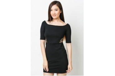 Lace Inset Dress