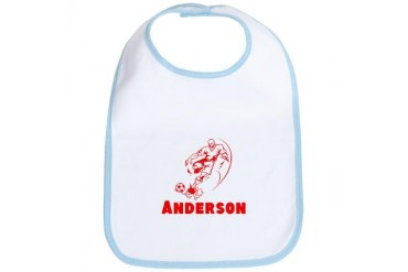 Personalized Soccer Sports Bib by CafePress