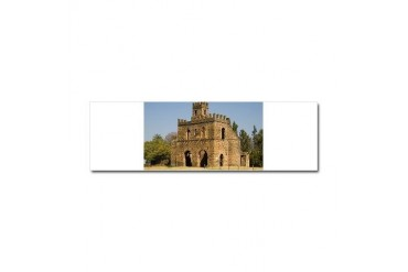 Ethiopia 11 Travel Car Magnet 10 x 3 by CafePress
