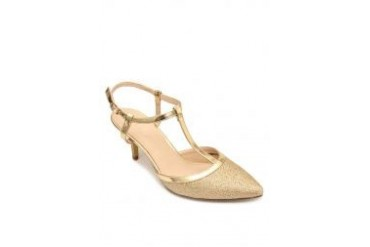 Gold Heels Closed