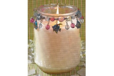 Tropical Fish Candle Jar Candy Jewelry Charms Decor