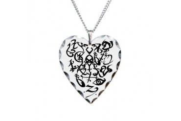 A Shadowhunter(s) Heart - Necklace Heart Charm