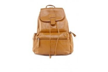 Santa Barbara Polo & Racquet Club Polo Leather Backpack