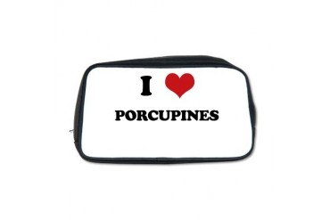 PORCUPINES.png Funny Toiletry Bag by CafePress
