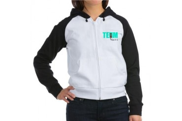 I in Team Funny Women's Raglan Hoodie by CafePress