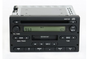 Ford Ranger 2004-2005 Radio AM FM CD Cassette Player Part 4L5T-18C868-AF