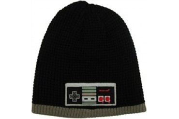 Nintendo Entertainment System Official Game Tester Reversible Embroidered Beanie