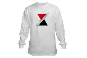 7th Infantry Div Military Long Sleeve T-Shirt by CafePress