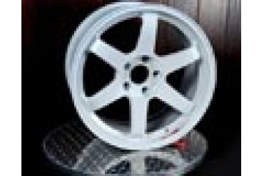 Volk Racing TE37SL White Wheel Set 18x9.5 22 BMW M3 08-11