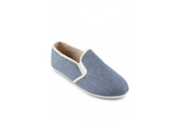 EZRA by ZALORA Oxford Slip On With Contrast Piping