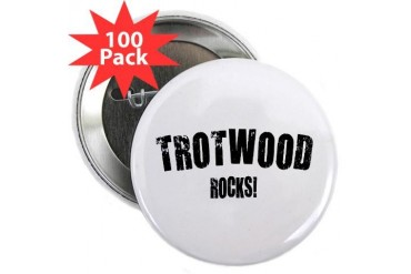 Trotwood Rocks Ohio 2.25 Button 100 pack by CafePress