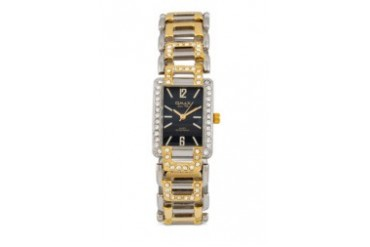 Omax JES602SG Alloy Silver & Gold Watch