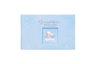Wish Upon A Star Grandmas Little Star Blue Photo Brag Book 4X6 Snapshots