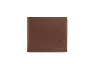 Polo Debossed Leather Wallet