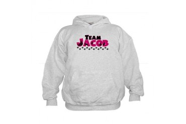 Team Jacob Black Girls Kids Hoodie