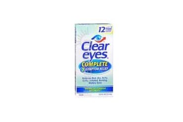 Clear Eyes Complete 7 Symptom Relief Eye Drops 0.5 oz