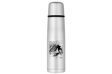 aSURFmoment B:W 56.jpg Large Thermos Bottle Sports Large Thermosreg; Bottle by CafePress