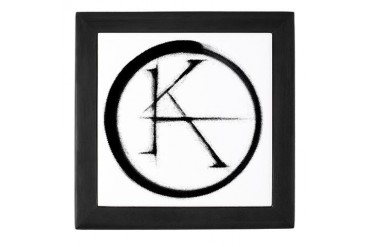 Ka symbol King Keepsake Box by CafePress