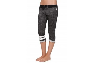 Womens Hurley Pants & Joggers - Hurley Drift Fleece Crop Pants