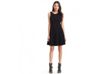 Miriem Ponte Fit-and-Flare Dress