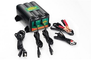 Deltran Battery Tender 2-Bank International Charger - USA and Western Hemisphere  022-0165-DL-WH Battery Charger