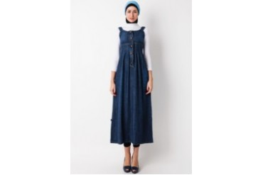 Cosmo Polite Gamis Jeans Singlet 1
