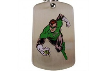 DC Comics Green Lantern Logo Running Dog Tag