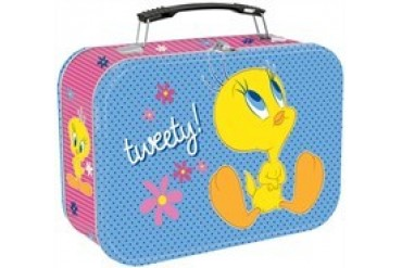Looney Tunes Tweety Tin Tote Lunch Box