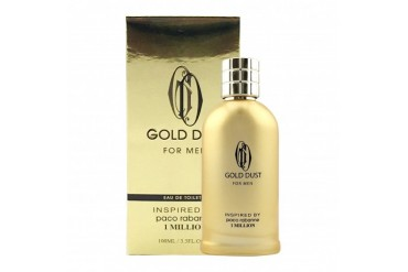 Gold Dust For Men, Inspired By 1 Million By Paco Rabanne EDT 3.3 Fl. Oz.